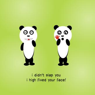 slap high five